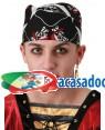 Lenço Pirata (3 Unidades), Loja de Fatos Carnaval, Disfarces, Artigos para Festas, Acessórios de Carnaval, Mascaras, Perucas, Chapeus 176 acasadocarnaval.pt