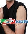 Maquiagem Ferida Cosida 14cm (3 unidades) Loja de Fatos Carnaval, Disfarces, Artigos para Festas, Acessórios de Carnaval Mascaras Perucas 853 acasadocarnaval.pt