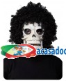 Máscara Afro Caveira, Loja de Fatos Carnaval, Disfarces, Artigos para Festas, Acessórios de Carnaval, Mascaras, Perucas, Chapeus 611 acasadocarnaval.pt