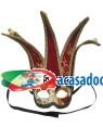 Máscara Arlequim, Loja de Fatos Carnaval, Disfarces, Artigos para Festas, Acessórios de Carnaval, Mascaras, Perucas, Chapeus 858 acasadocarnaval.pt