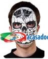 Máscara Caveira, Loja de Fatos Carnaval, Disfarces, Artigos para Festas, Acessórios de Carnaval, Mascaras, Perucas, Chapeus e Fantasias 116 acasadocarnaval.pt