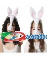 Máscara Coelho, Loja de Fatos Carnaval, Disfarces, Artigos para Festas, Acessórios de Carnaval, Mascaras, Perucas, Chapeus e Fantasias 822 acasadocarnaval.pt