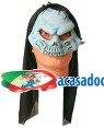 Máscara Crânio Azul, Loja de Fatos Carnaval, Disfarces, Artigos para Festas, Acessórios de Carnaval, Mascaras, Perucas, Chapeus 425 acasadocarnaval.pt