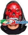 Máscara Crânio Vermelho com Capuz (3 Unidades), Loja de Fatos Carnaval, Disfarces, Artigos para Festas, Acessórios de Carnaval, Mascaras 722 acasadocarnaval.pt