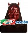 Máscara Demônio Metalizada Vermelha , Loja de Fatos Carnaval, Disfarces, Artigos para Festas, Acessórios de Carnaval, Mascaras, Perucas 828 acasadocarnaval.pt