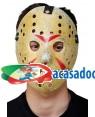 Máscara de Hóquei com Impressão, Loja de Fatos Carnaval, Disfarces, Artigos para Festas, Acessórios de Carnaval, Mascaras, Perucas 264 acasadocarnaval.pt