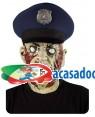 Máscara Policia Zombie, Loja de Fatos Carnaval, Disfarces, Artigos para Festas, Acessórios de Carnaval, Mascaras, Perucas, Chapeus 193 acasadocarnaval.pt