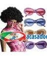 Óculos Anos 60 Brilhantes (2 Unidades), Loja de Fatos Carnaval, Disfarces, Artigos para Festas, Acessórios de Carnaval, Mascaras, Perucas 270 acasadocarnaval.pt