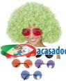 Óculos de Hippie Gigantes (3 Unidades), Loja de Fatos Carnaval, Disfarces, Artigos para Festas, Acessórios de Carnaval, Mascaras, Perucas 348 acasadocarnaval.pt