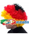 Peruca Caracóis Alemanha, Loja de Fatos Carnaval, Disfarces, Artigos para Festas, Acessórios de Carnaval, Mascaras, Perucas, Chapeus 840 acasadocarnaval.pt
