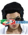 Peruca Elvis Anos 60, Loja de Fatos Carnaval, Disfarces, Artigos para Festas, Acessórios de Carnaval, Mascaras, Perucas, Chapeus 192 acasadocarnaval.pt