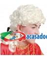 Peruca da Época, Loja de Fatos Carnaval, Disfarces, Artigos para Festas, Acessórios de Carnaval, Mascaras, Perucas, Chapeus e Fantasias 652 acasadocarnaval.pt