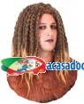 Peruca Guerreiro Castanho, Loja de Fatos Carnaval, Disfarces, Artigos para Festas, Acessórios de Carnaval, Mascaras, Perucas, Chapeus 328 acasadocarnaval.pt