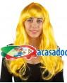 Peruca Longa Oro Neon, Loja de Fatos Carnaval, Disfarces, Artigos para Festas, Acessórios de Carnaval, Mascaras, Perucas, Chapeus 863 acasadocarnaval.pt