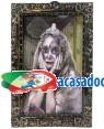 Quadro Princesa Halloween 27X35cm , Loja de Fatos Carnaval, Disfarces, Artigos para Festas, Acessórios de Carnaval, Mascaras, Perucas 166 acasadocarnaval.pt