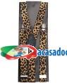 Suspensórios Elásticos Leopardo 2 5X100cm  Loja de Fatos Carnaval, Disfarces, Artigos para Festas Acessórios de Carnaval Mascaras Perucas 519 acasadocarnaval.pt