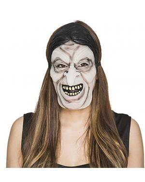 Máscara terror fluorescente Acessórios para disfarces de Carnaval ou Halloween