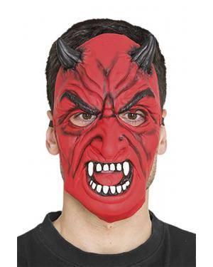 Máscara diabo Acessórios para disfarces de Carnaval ou Halloween