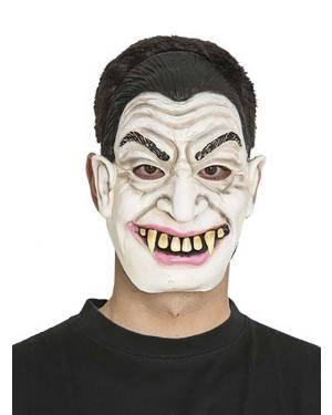 Máscara drácula  Acessórios para disfarces de Carnaval ou Halloween