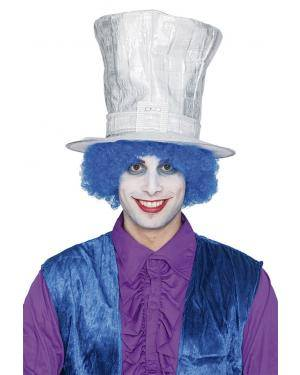 Chapéu duende prata Acessórios para disfarces de Carnaval ou Halloween