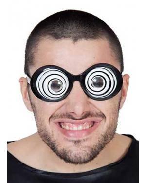 Óculos círculos Acessórios para disfarces de Carnaval ou Halloween
