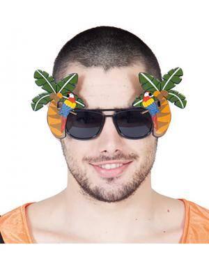Óculos tropical Acessórios para disfarces de Carnaval ou Halloween