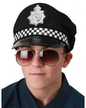 Óculos polícia Acessórios para disfarces de Carnaval ou Halloween