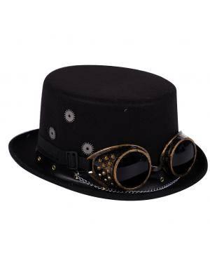 Chapéu steampunk   Acessórios para disfarces de Carnaval ou Halloween