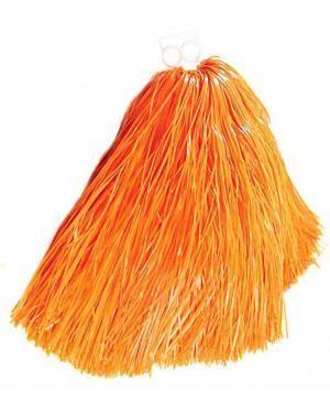 2 Pompons 55 gr. anéis laranja Acessórios para disfarces de Carnaval ou Halloween