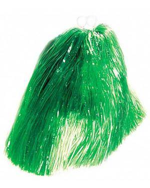 2 Pompons 55 gr. anéis verde Acessórios para disfarces de Carnaval ou Halloween