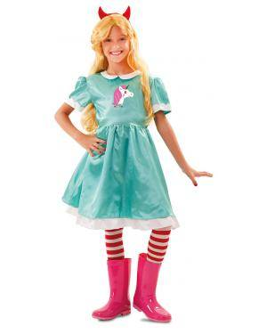 Peruca princesa em caixa Acessórios para disfarces de Carnaval ou Halloween