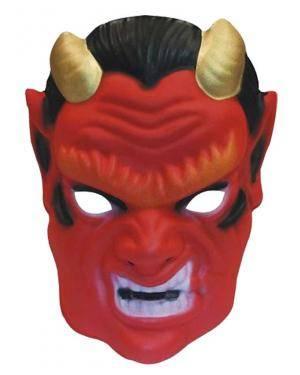 Máscara demónio infantil eva Acessórios para disfarces de Carnaval ou Halloween