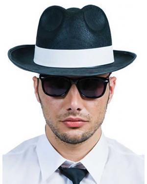 Óculos azuis irmãos Acessórios para disfarces de Carnaval ou Halloween