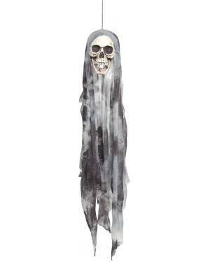 Cabeça caveira 95cm. Acessórios para disfarces de Carnaval ou Halloween
