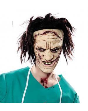 Máscara psicopata látex Acessórios para disfarces de Carnaval ou Halloween