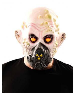Máscara zombie radioactivo látex Acessórios para disfarces de Carnaval ou Halloween