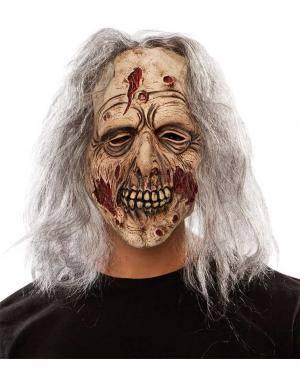 Máscara zombie látex Acessórios para disfarces de Carnaval ou Halloween
