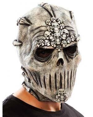 Máscara caveiras látex Acessórios para disfarces de Carnaval ou Halloween