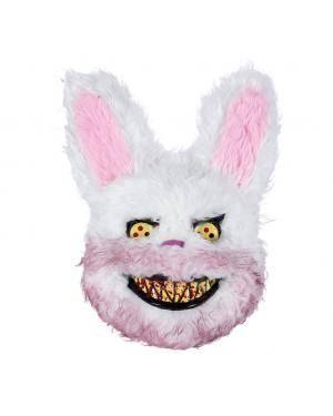 Máscara coelho sangrento 22x30cm. Acessórios para disfarces de Carnaval ou Halloween