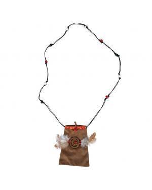 Saco índia 11x13+50cm. Acessórios para disfarces de Carnaval ou Halloween