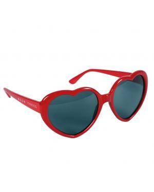 Óculos corações vermelhos Acessórios para disfarces de Carnaval ou Halloween