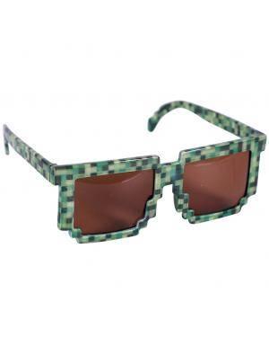 Óculos minecraft Acessórios para disfarces de Carnaval ou Halloween
