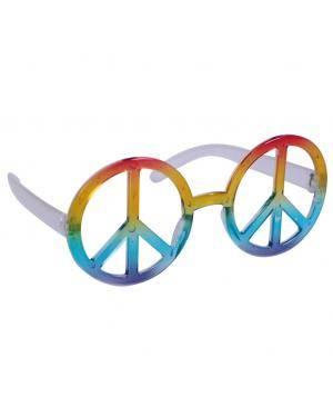 Óculos hippie Acessórios para disfarces de Carnaval ou Halloween