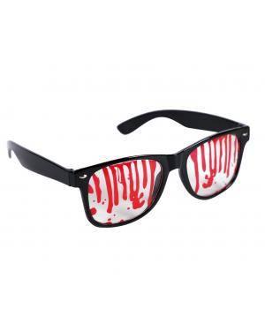 Óculos ensanguentados Acessórios para disfarces de Carnaval ou Halloween