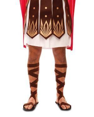 Sandálias romano Acessórios para disfarces de Carnaval ou Halloween