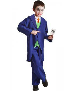 Fato de Joker Infantil para Carnaval