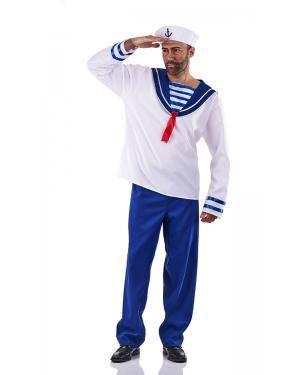 Fato de Marinheiro Adulto Tamanho XL para Carnaval