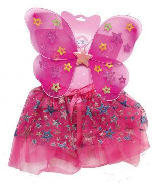 Acessórios Mariposa Rosa (Asas, Saia / Tútú) Disfarces A Casa do Carnaval.pt