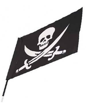 Bandeira Pirata (2 Unidades) Disfarces A Casa do Carnaval.pt