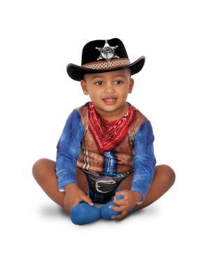 Body Cowboy para Bebé para Carnaval